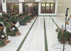 Tingkatkan Keimanan Prajurit Menbanpur 2 Marinir Peringati Maulid Nabi Muhammad SAW