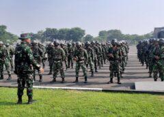 Jelang Latihan, Prajurit Menart 2 Mar Laksanakan Apel Kesiapan Personel dan Material